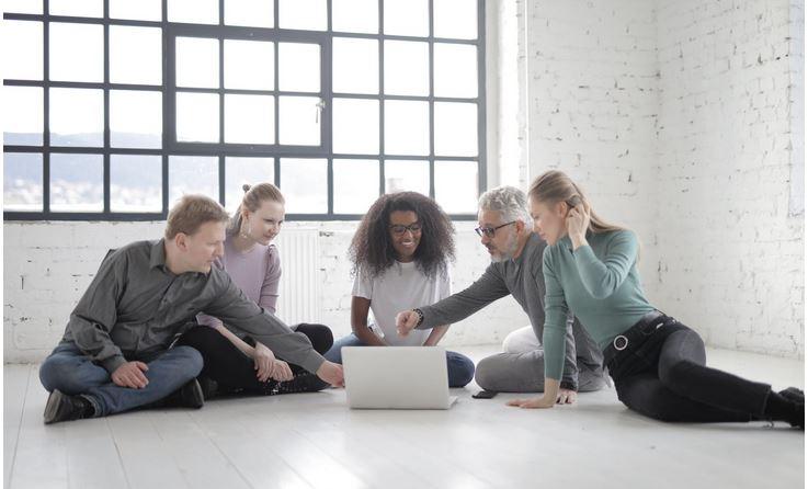 A group of social entrepreneurs
