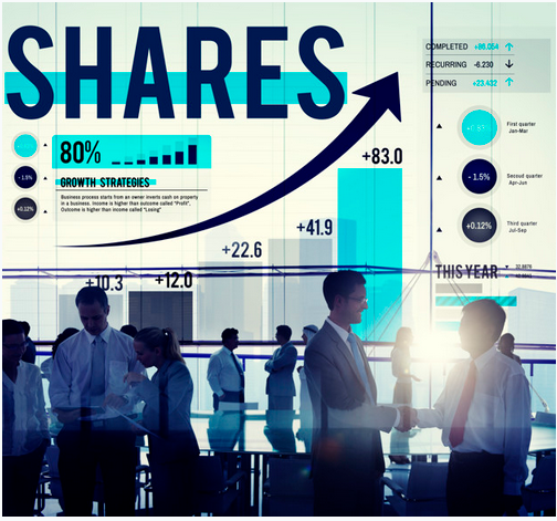 Graph showing diversified portfolio